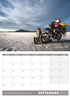 Picture of Motorcycle Odyssey Desk Calendar