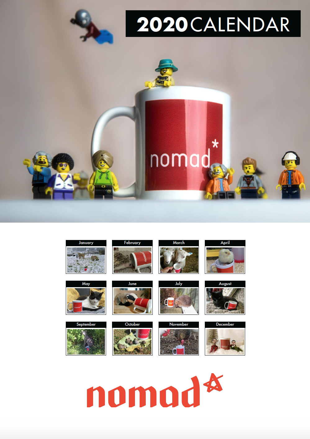 Picture of Nomad Podcast Desk Calendar