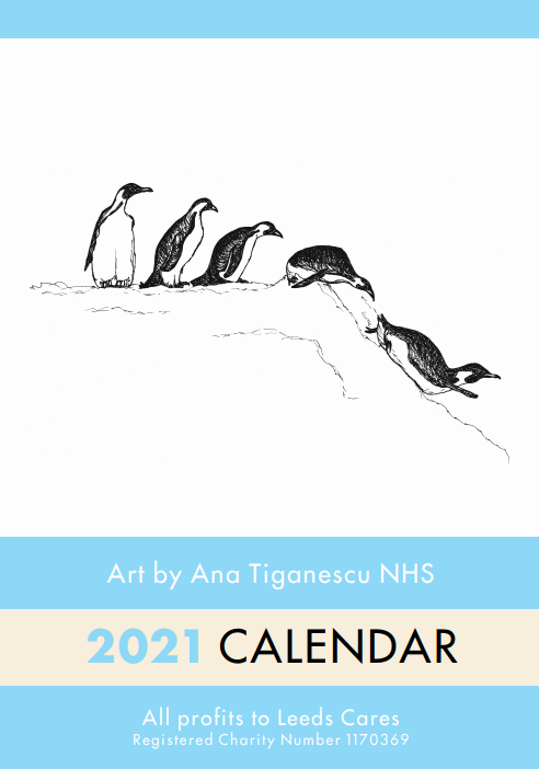 Picture of Ana's NHS Fundraising Calendar