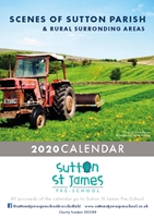 Picture of A3 Sutton St James 2020 Calendar