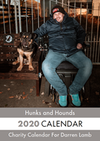 Picture of Hunks & Hounds Desk Calendar
