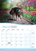 Picture of World of Lupines Desk Calendar