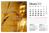 Picture of A4 Kai Ming Association Spiral Calendar