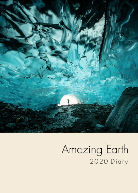 Picture of Amazing Earth A5 Photo Diary 2020
