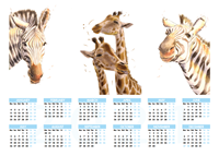 Picture of Caenhill Giraffe Yearplanner