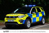Picture of A5 Police Cars of Britain Landscape Desk Calendar