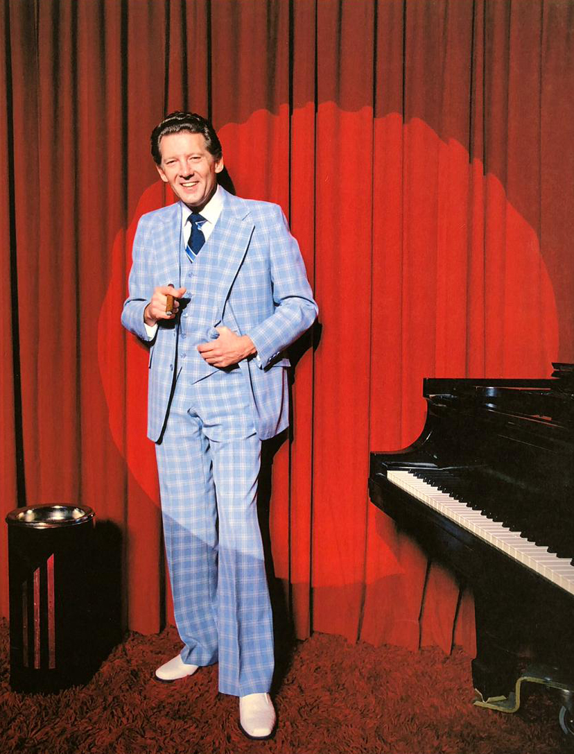 Picture of Jerry Lee Lewis Canvas Print