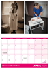 Picture of Midwives Then & Now Large Spiral Booklet Calendar