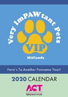 Picture of A5 Very ImPAWtant Pets Calendar 2020
