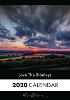 Picture of A5 The Stanleys Desk Calendar 2020