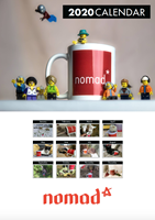 Picture of Nomad Podcast A4 Wall Calendar