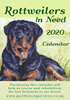 Picture of Rottweilers in Need Desk Calendar