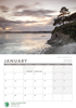 Picture of Small Spiral Booklet Arnside Calendar