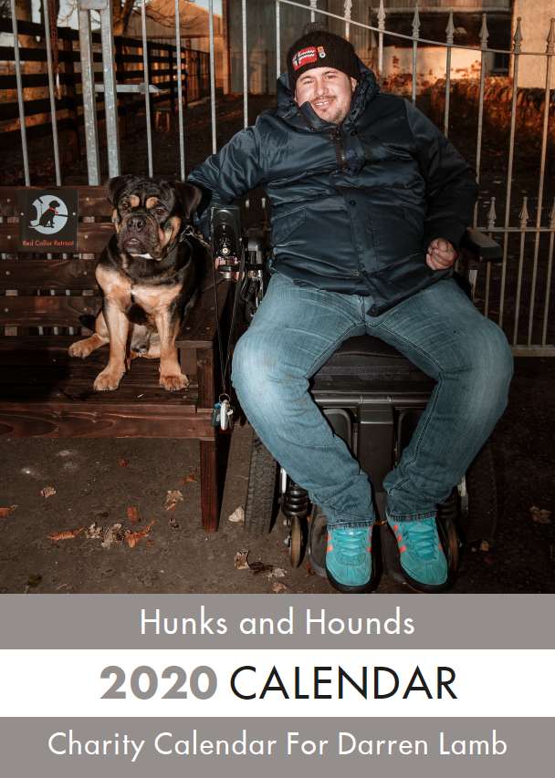 Picture of A5 Hunks & Hounds Calendar