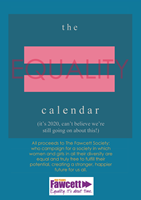 Picture of A5 Equality Calendar 2020