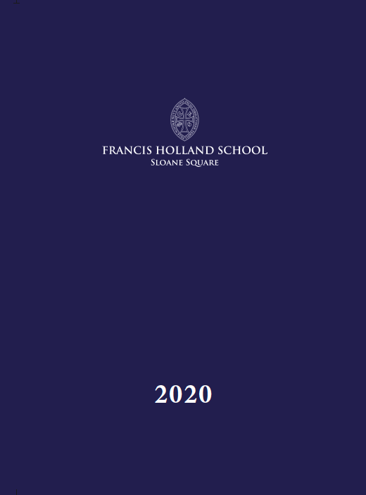 Picture of Francis Holland Yearbook