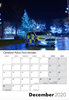 Picture of A5 Police Cars of Britain Portrait Desk Calendar
