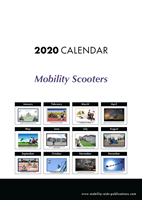 Picture of Mobility Aids Cartoon Desk Calendar